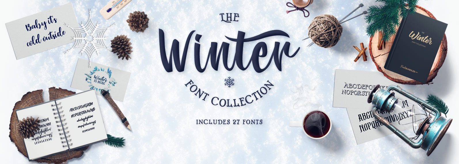 The Winter Fonts collection