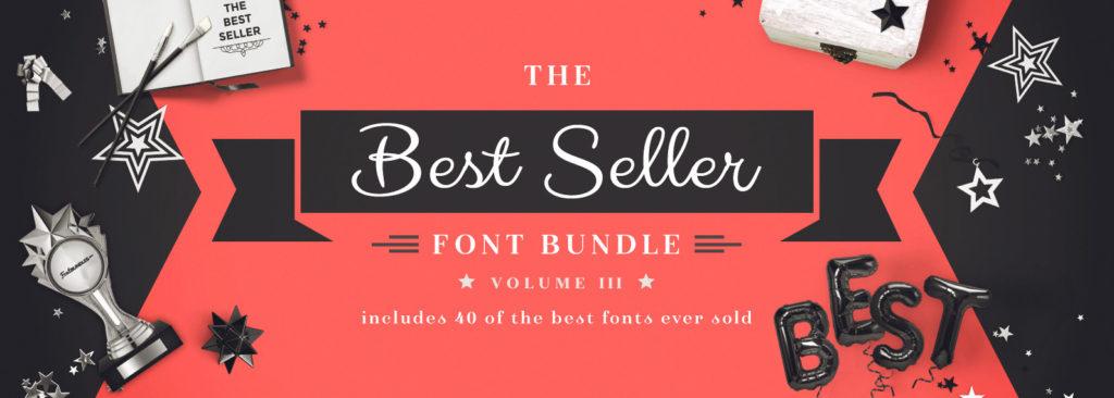 The Best Seller font bundle