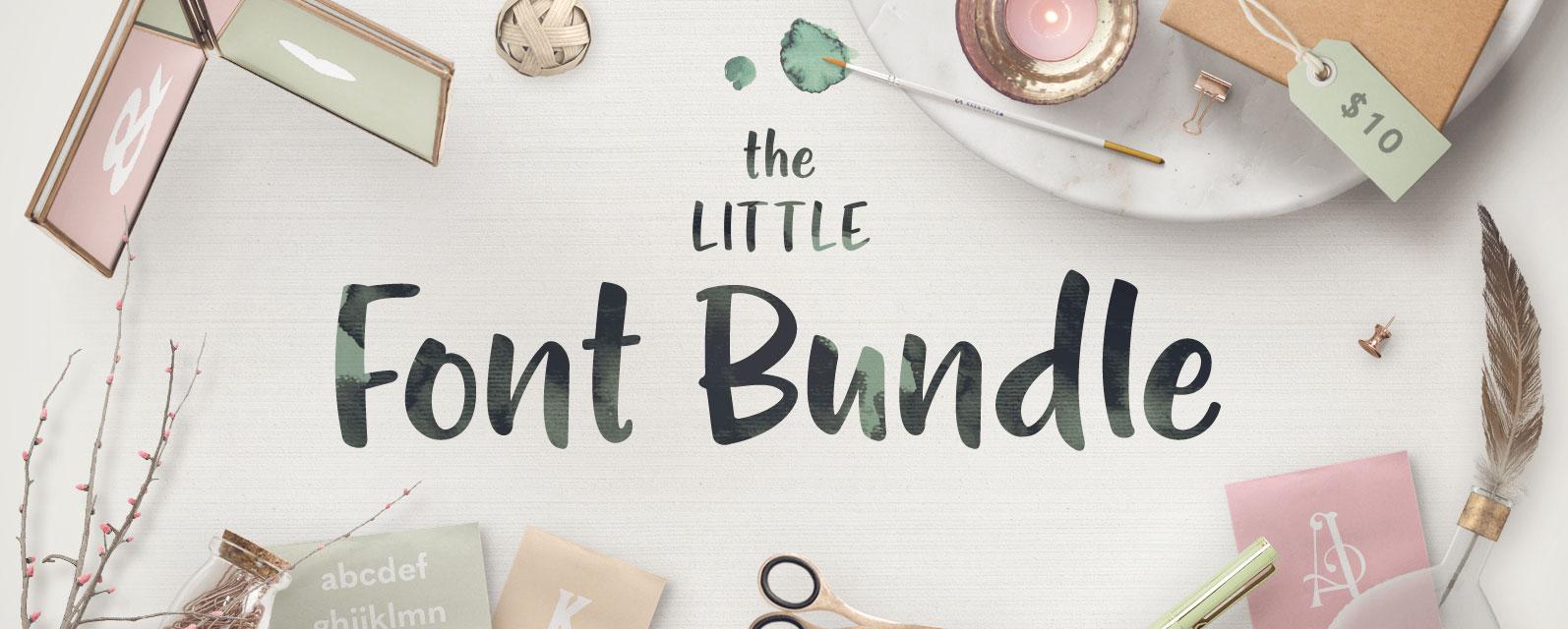 The Little Font Bundle