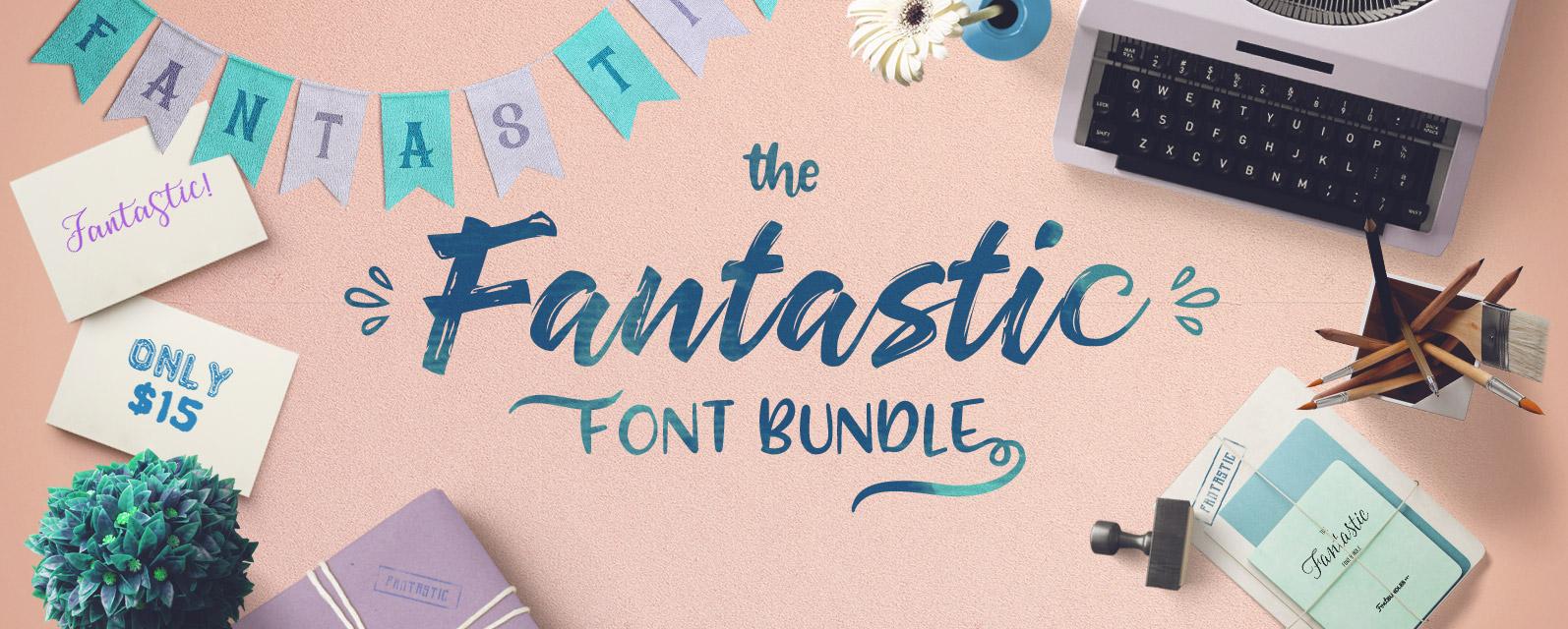 The Fantastic font bundle