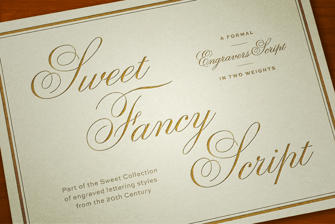 Classic and Elegant Sweet Fancy Script Font – only $15!