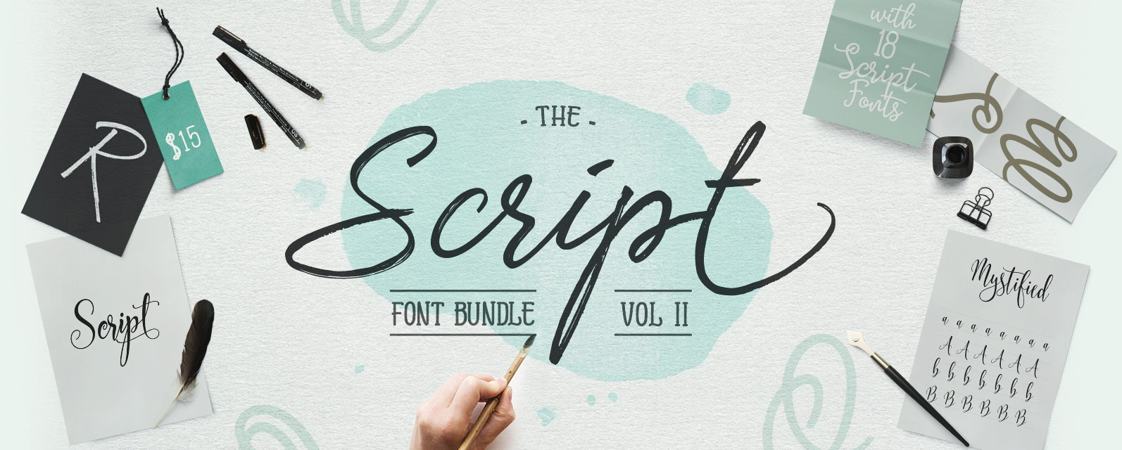 The Script Font Bundle Vol 2