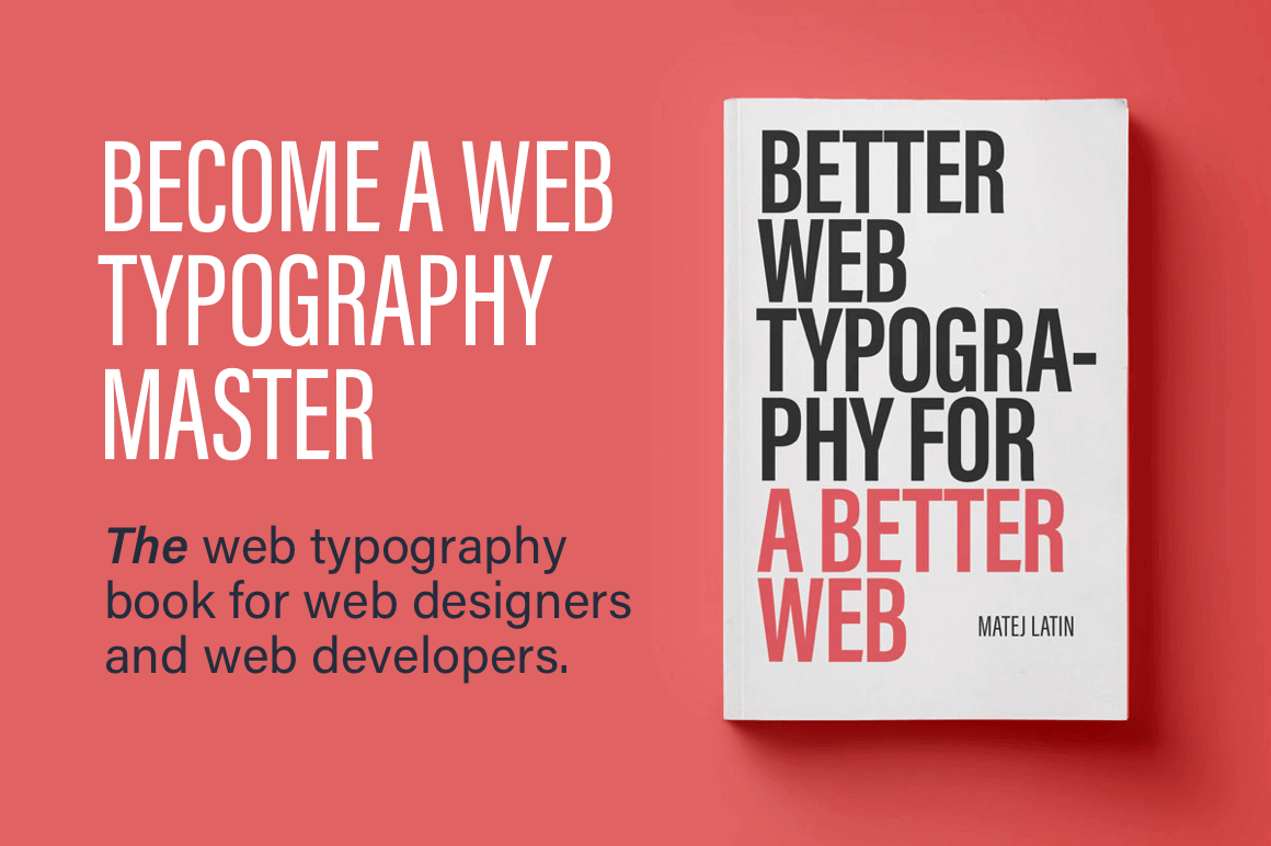 eBook: Better Web Typography for a Better Web