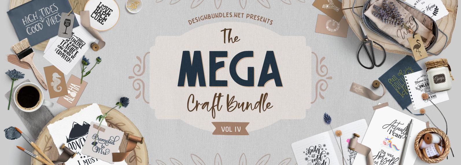 The Mega Craft Bundle IV