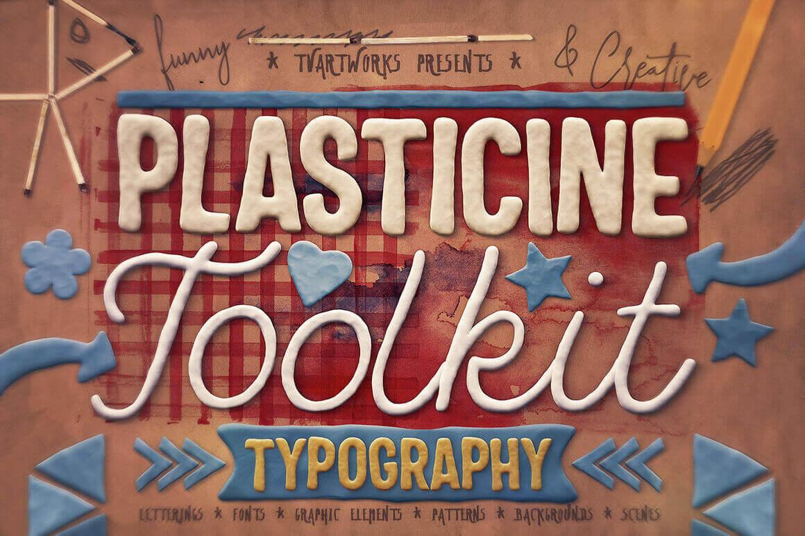 Plasticine Typography Toolkit